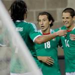 Empate México y Nigeria, doblete Del Chicharito Hernández