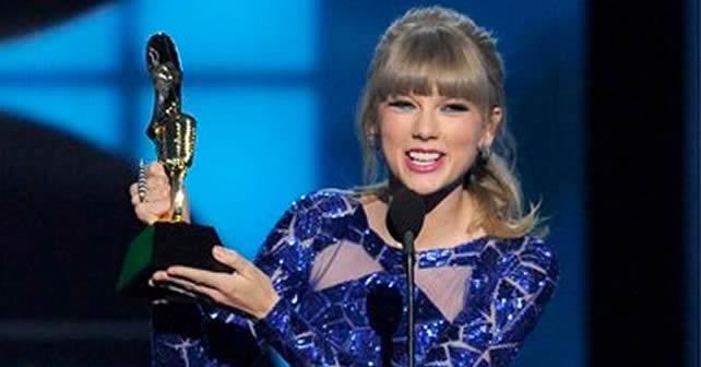 Taylor Swift se lleva ocho Premios Billboard