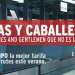 """VivaAerobús se mofa de """"Ladies"""" en publicidad"""