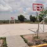 Juegos y canchas para la Emiliano Zapata, Magisterial y Plan Vivirá