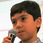 Niño mexicano en Harvard