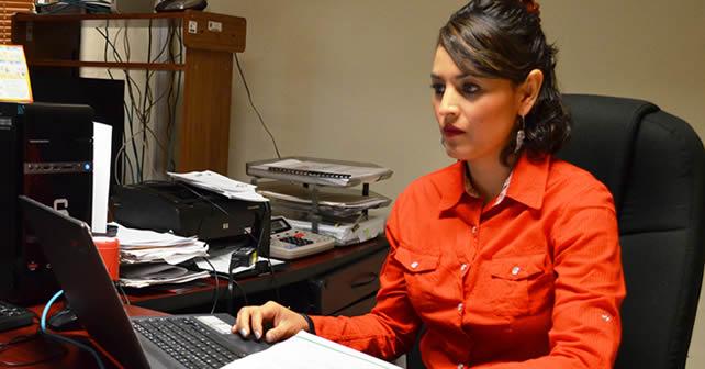 Maricela González encargada de la Unidad de Acceso a la Información Pública Foto NOTUS