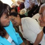 Adultos mayores en Colonia Morelos