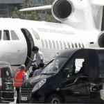 Detienen avión de Evo Morales