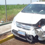 Cuatro lesionados en accidente automovilístico en Abasolo