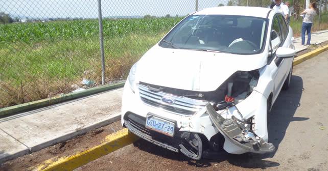 Photo of Cuatro lesionados en accidente automovilístico en Abasolo