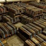 Recuperan 1,500 lingotes de plata del fondo del mar