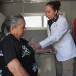 Feria de la Salud en Cuerámaro con apoyo de migrantes
