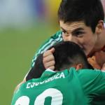 México pierde ante España en el último minuto