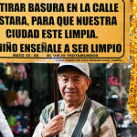 """El Viejo Trotamundos"" deja su mensaje en La Piedad"