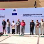 Inauguran Centro de Atención a Visitantes (CAV) de Mineral de Pozos