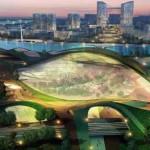 Maravilla ciudad Ecológica en China