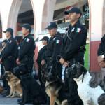 Asignan lugar a policías del grupo canino
