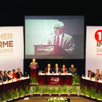 Luis Gutiérrez Márquez, rinde informe de gobierno en la capital