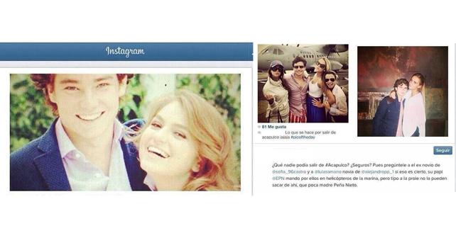 Por la mañana comenzó a circular una foto en redes sociales en la cual se  ven los hijos de Peña Nieto con un avión de la Secretaría de Marina de  fondo 825caff0f4d