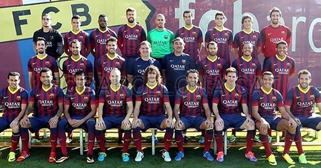 Photo of Jona aparece en la foto del Barça para la Champions
