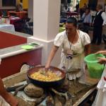 Cocina tradicional abre el apetito en la inauguración del Centro de Atención a Visitantes