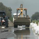Más inundaciones en Estación de Abasolo