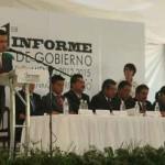 Rinde informe de gobierno Jacobo Manríquez