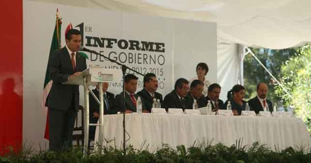 Photo of Rinde informe de gobierno Jacobo Manríquez