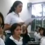 Maestra amenaza a alumna por insultarla en twitter