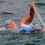 Diana Nyad logra la hazaña de nadar entre La Habana y Florida