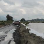 Revisan puntos de riesgo por lluvias en Abasolo