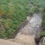 Caos por lluvias en Pénjamo; hombre es arrastrado por la corriente no lo encuentran