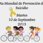 Paseo ciclista en contra de suicidio, violencia y adicciones