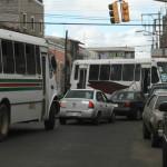 Ocasiona caos vehicular evento militar