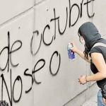 Blindan ciudad por marcha del 2 de Octubre