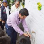 Agua en el Pochote de Morales