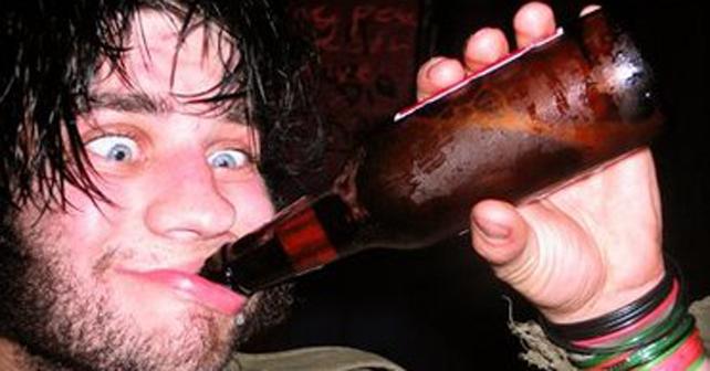 borracho cruda