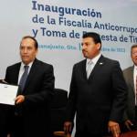 Márquez inaugura Fiscalía Anticorrupción