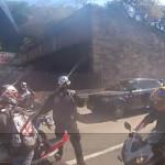 Espectacular persecución de motociclistas en NY