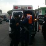 """""""Atacan"""" a balazos oficinas de la policía en Santa Ana Pacueco; hay tres lesionados"""