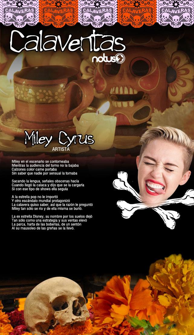 CALAVERAS NOTUS 09 Miley Cyrus