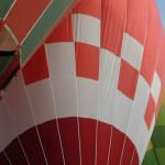 Surcan el aire globos en Peralta