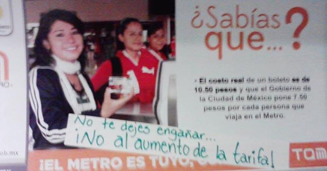 Photo of Aumenta el Metro a $5.00 a partir de hoy
