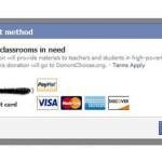 Facebook agrega botón para donaciones