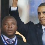 Indignación por falso intérprete durante el funeral de Mandela