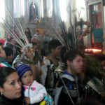 La virgen de Guadalupe une a un pueblo