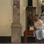 Guadalupanos visitan a la Virgen