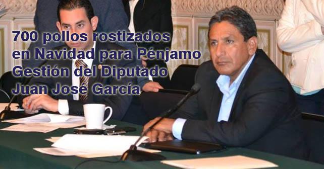 El Diputado Juan José García, anunció que dará 700 pollos rostizados en navidad