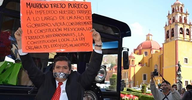 Photo of Periodistas estallan contra el alcalde de San Miguel de Allende