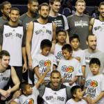 Triquis Vs estrellas NBA