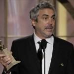 """""""¡Ay güey!"""", Alfonso Cuarón se lleva el Globo de Oro como Mejor Director"""