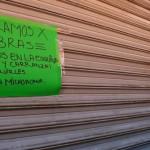 Negocios cierran en la calle Cortazar por obras de rehabilitación