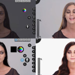 Photoshop en tiempo real, la increíble transformación de una cantante