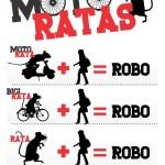 "En bici, moto o en modalidad ""rata""; robos no denunciados"